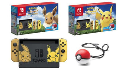NINTENDO SWITCH CONSOLE POKEMON LETS GO EDITION