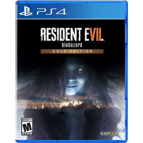 PS4 RESIDENT EVIL 7: BIOHAZARD [GOLD EDITION]