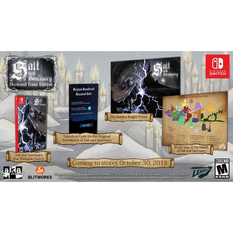 NINTENDO SWITCH SALT AND SANCTUARY [DROWNED TOME EDITION]