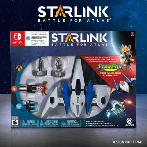 NINTENDO SWITCH STARLINK: BATTLE FOR ATLAS [STAR FOX STARTER PACK]