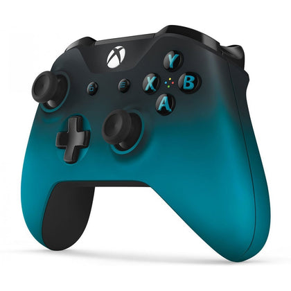MICROSOFT XBOX ONE OFFICIAL LIMITED EDITION WIRELESS CONTROLLER WITH BLUETOOTH - OCEAN SHADOW