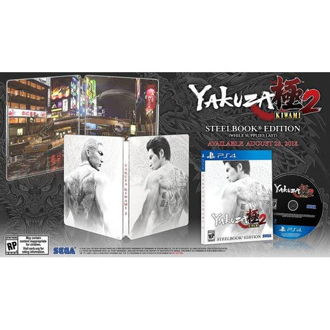 PS4 YAKUZA KIWAMI 2 [STEELBOOK EDITION]