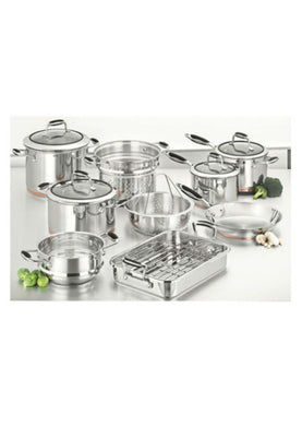 Scanpan Coppernox 9 Piece Cookware Set