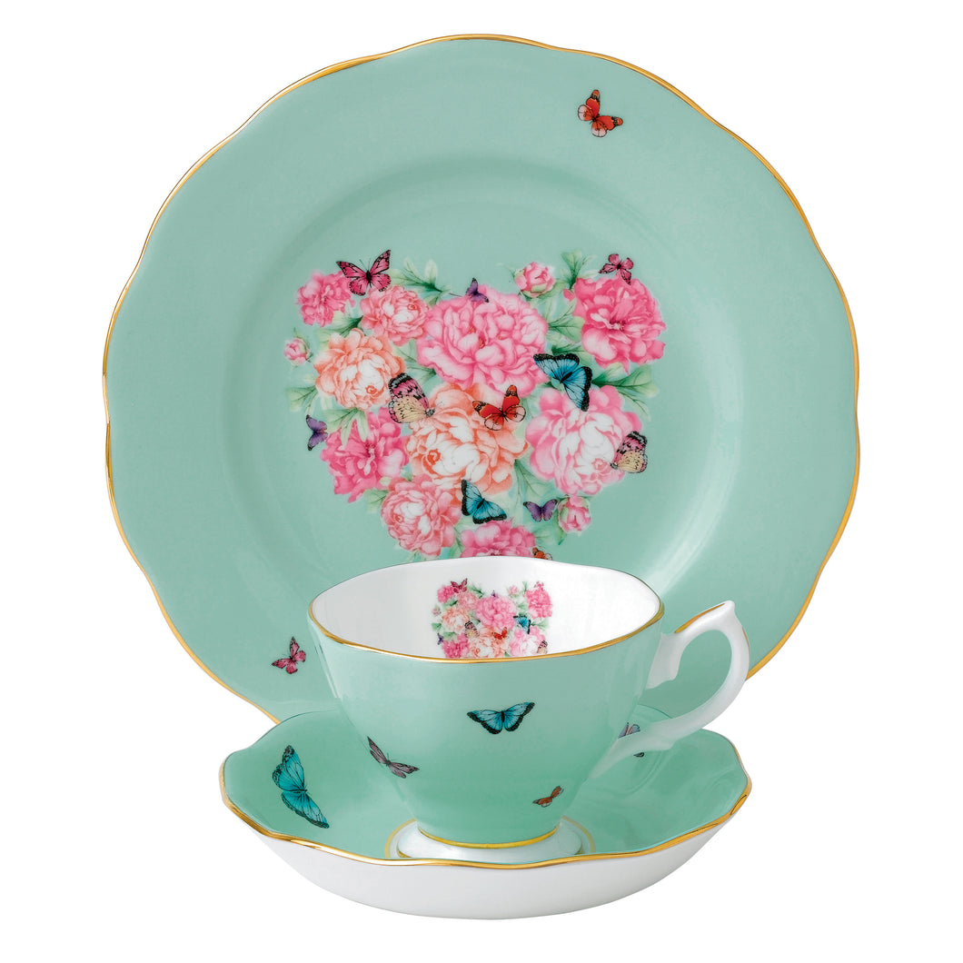 Miranda Kerr for Royal Albert Blessings Teacup, Saucer, Plate 20cm