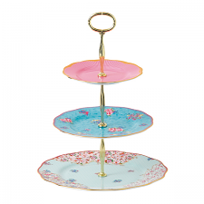 Royal Albert Candy Collection 3 tiered cake stand
