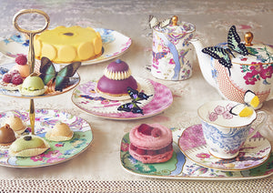 Wedgwood Butterfly Bloom 3 Tiered Cake Stand
