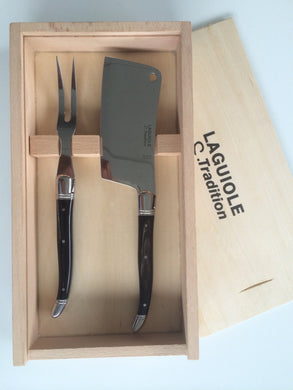 Laguiole Tradition Cheese Serving Set