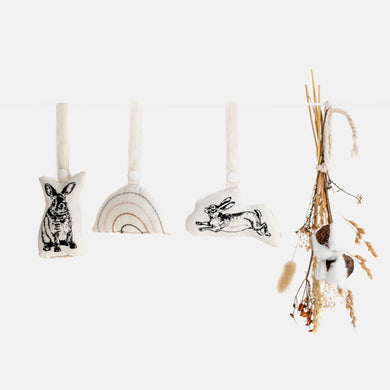 SW - Hanging Rattles. Set of 3.