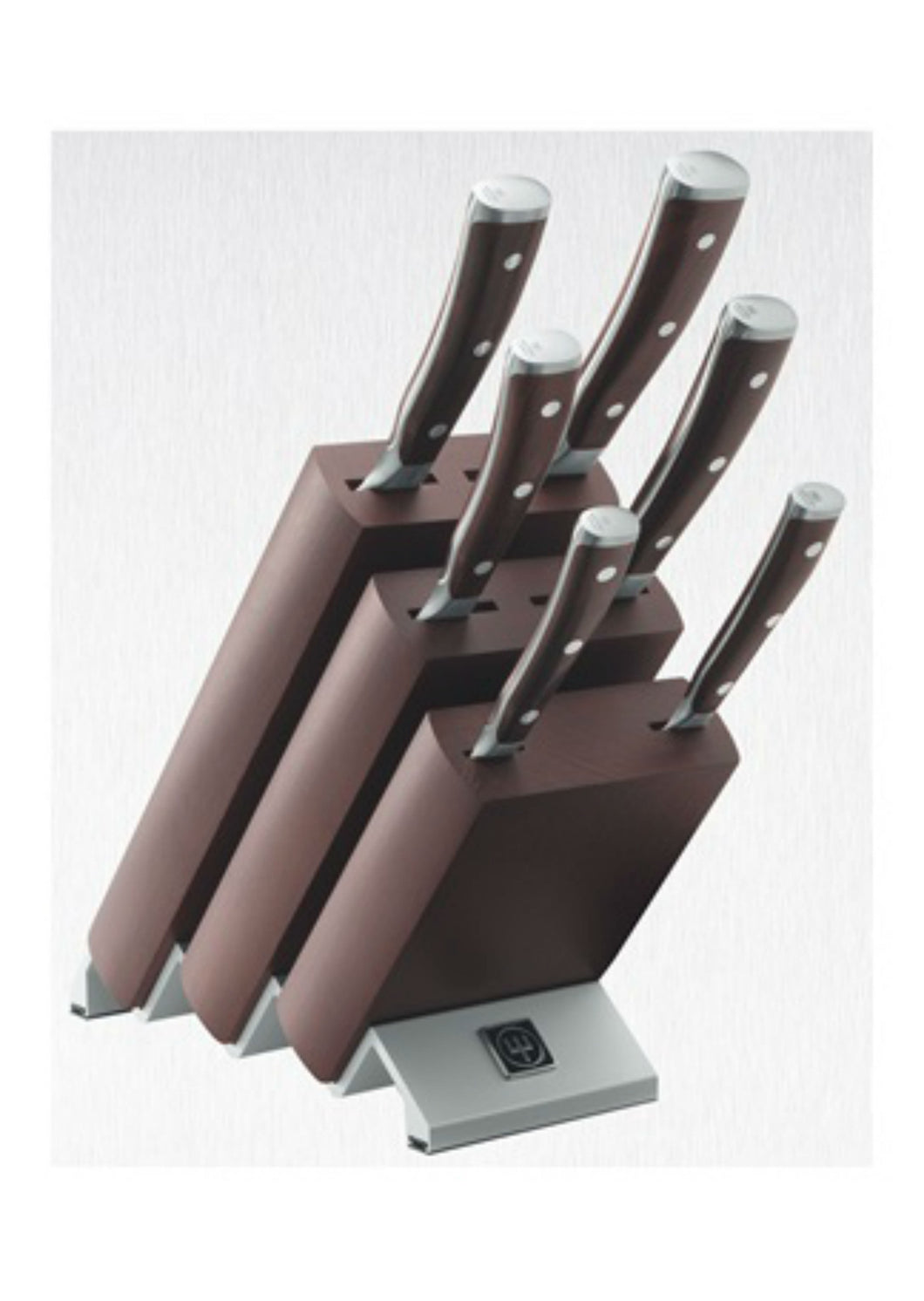 Wüsthof Ikon Chocolat 6 Piece Knife Block Set