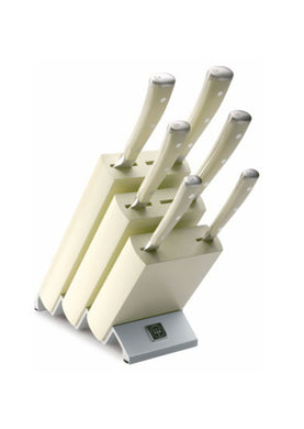 Wüsthof Ikon White 6 Piece Knife Block Set