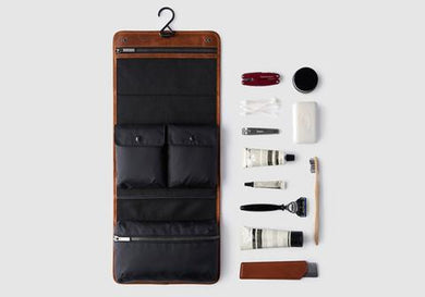 Buffalo Hide Toiletries/Wash Bag