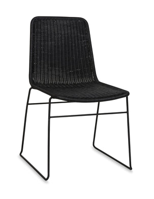 Citta Design Bistro Dining Chair - Matte Black