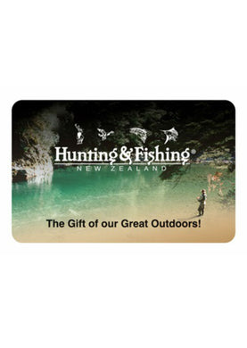 Hunting & Fishing New Zealand Gift Card