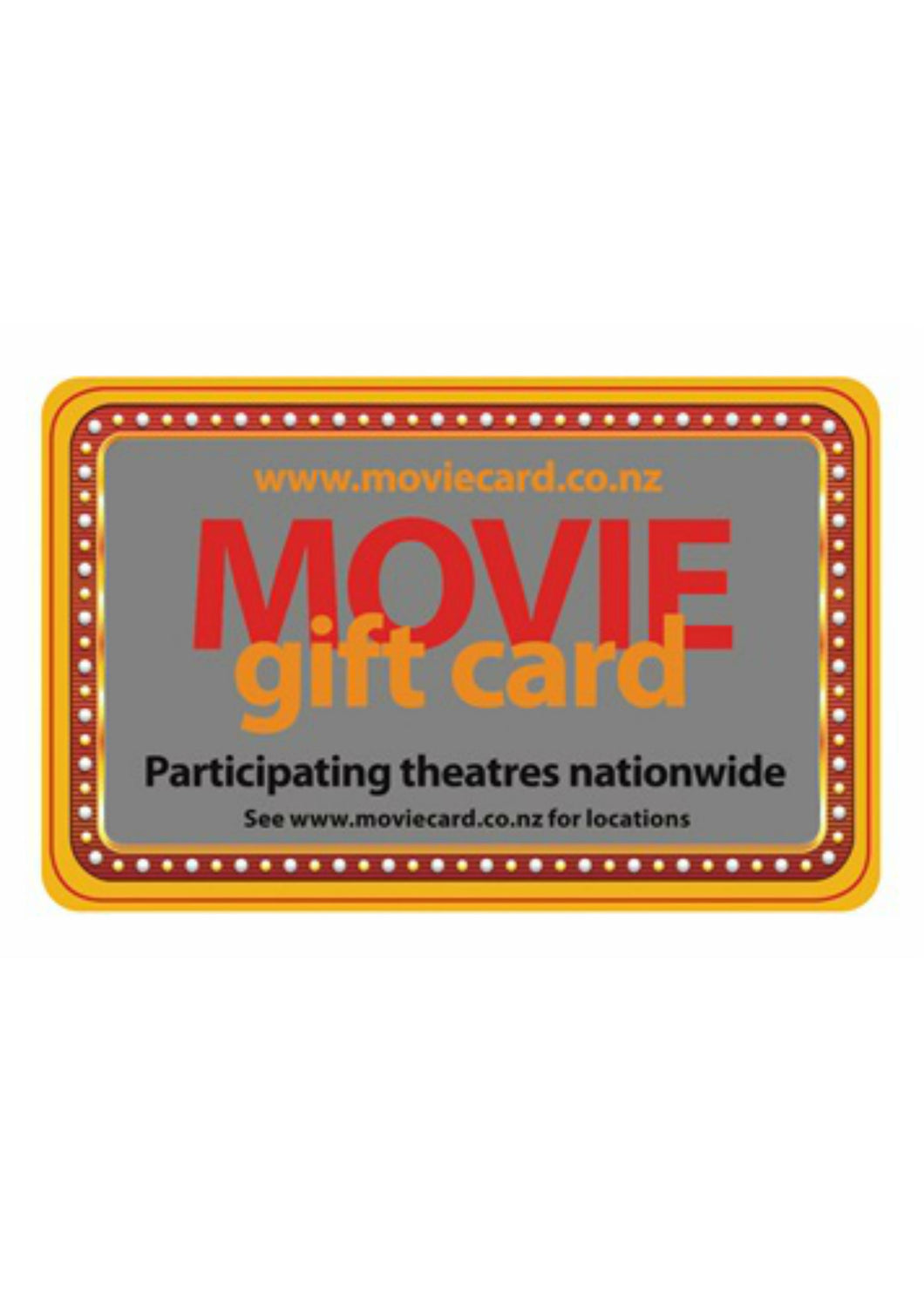 Movie Gift Card