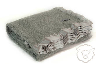 Contribute towards Merino Pewter Thermacell Weave Blanket