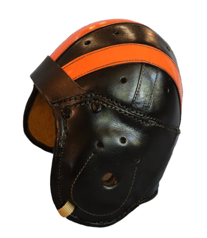 1930s Bronko Nagurski Chicago Bears Leather Football Helmet