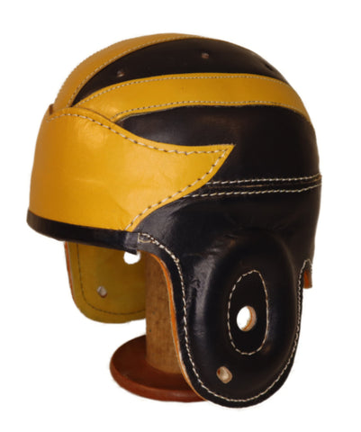 Michigan Wing Leather Football Helmet