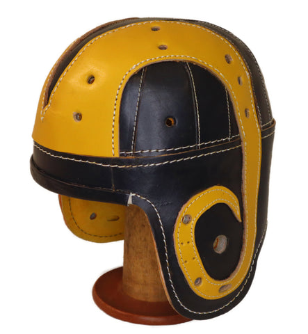 1940's LA Rams Leather Football Helmet