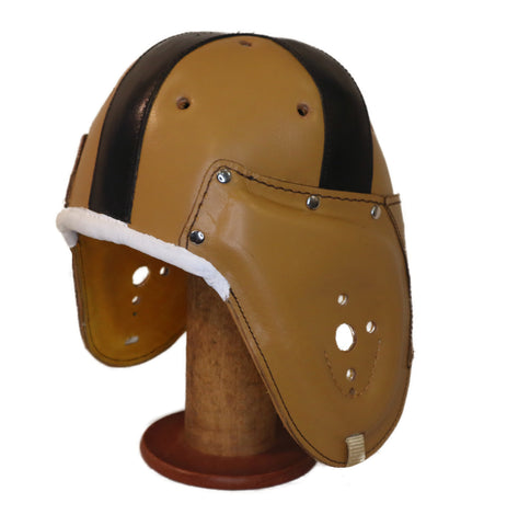 1940-1954 Old Notre Dame Style Leather Helmet