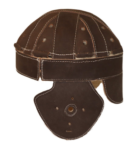 1915-1920s Dog-Ear Leather Helmet