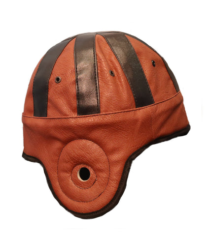 """Game Day Helmet"" Crushable Fake Leather Football Helmet Cap"