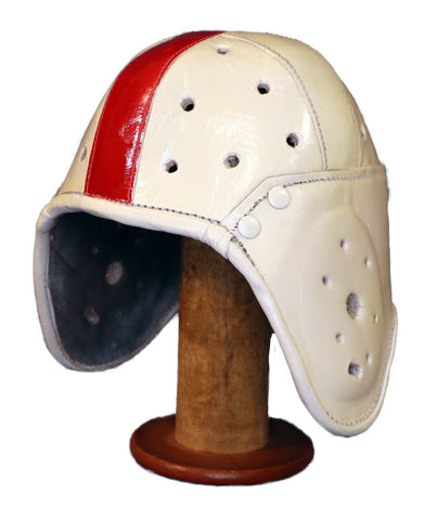 1940s Nebraska, Stanford & University of South Carolina style Leather Helmet