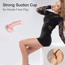Load image into Gallery viewer, BOMBEX Silicone Realistic Dildo