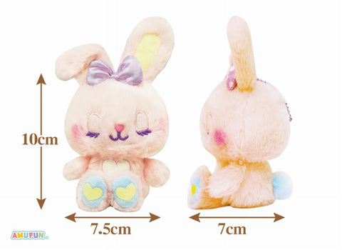 AMUSE Cotton Candies Sugar Ribbon Plushie Ballchain