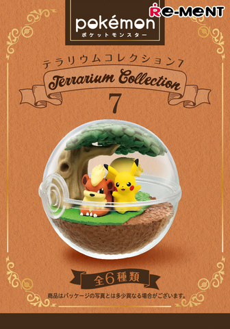 Pokemon Terrarium 7 - 1 Blind Box