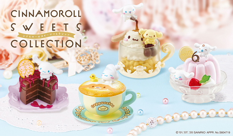 No.1 Berry /& Cherry RE-MENT CINNAMOROLL SWEETS COLLECTION
