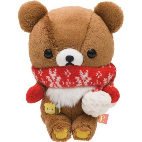 Rilakkuma Autumn Gloves Plush