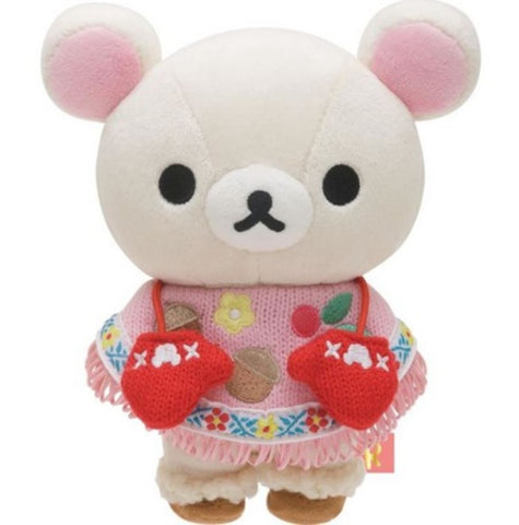 Korilakkuma Autumn Gloves Plush
