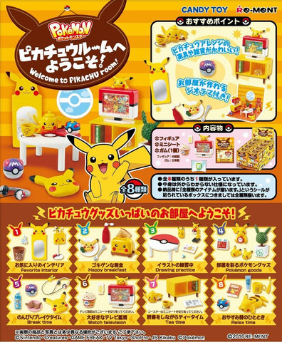 Re-Ment Pikachu Room - 1 Blind Box