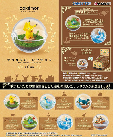 Re-Ment Pokemon Terrarium - 1 Blind Box