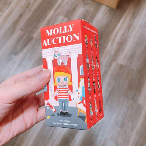 Molly Art Auction Figurine