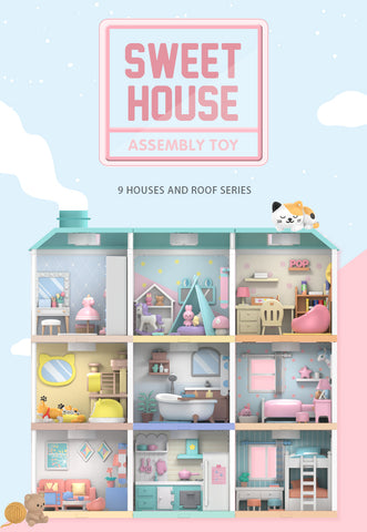 POP MART Sweet House Assembly / Model homes