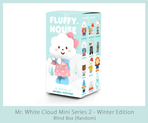 Mr. White Cloud Mini Series 2 White Winter Edition