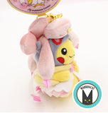 Pokemon Center Mega Poncho Pikachu Diancie Plush