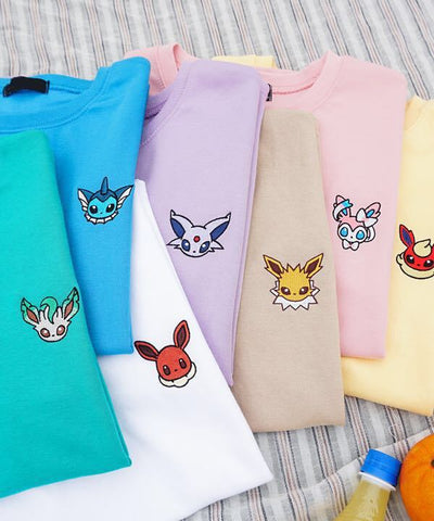 Embroidered Anime T-shirts