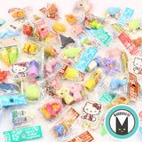 Iwako Erasers Grab Lot 20pcs