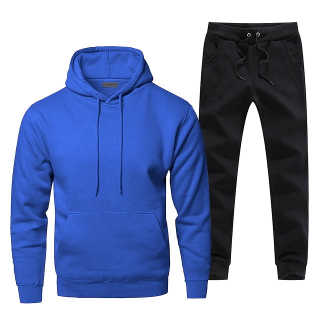 Men Fitness Simple Style Tracksuit - On-Point Clothing!