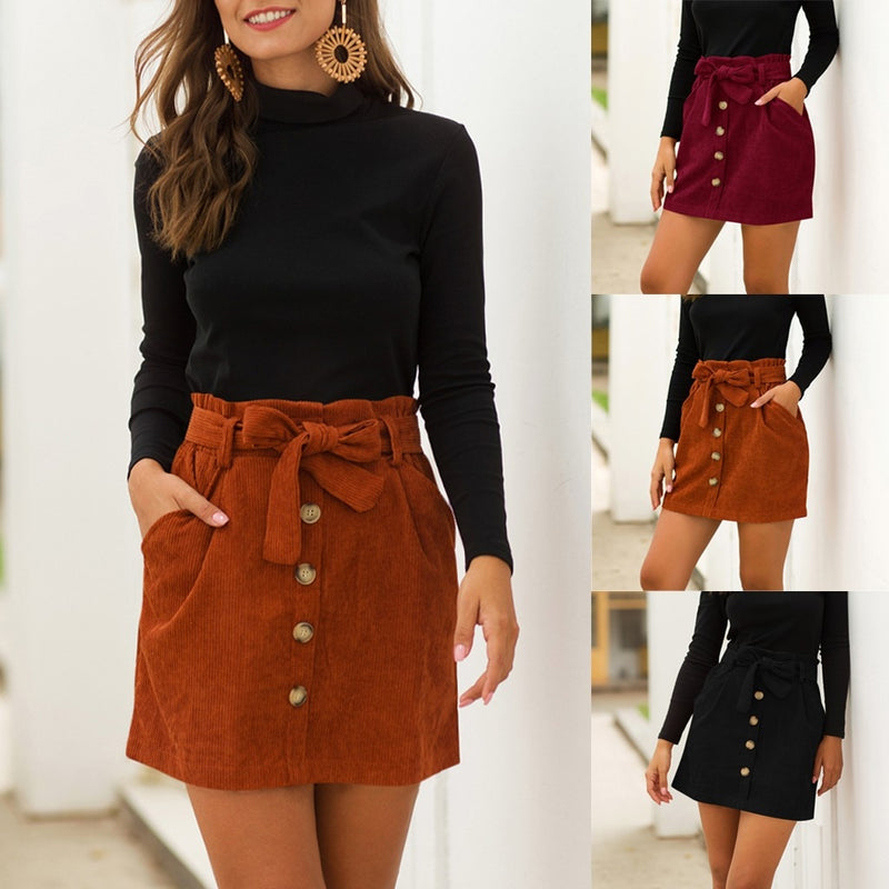 New bow skirt for women - On-Point Clothing!