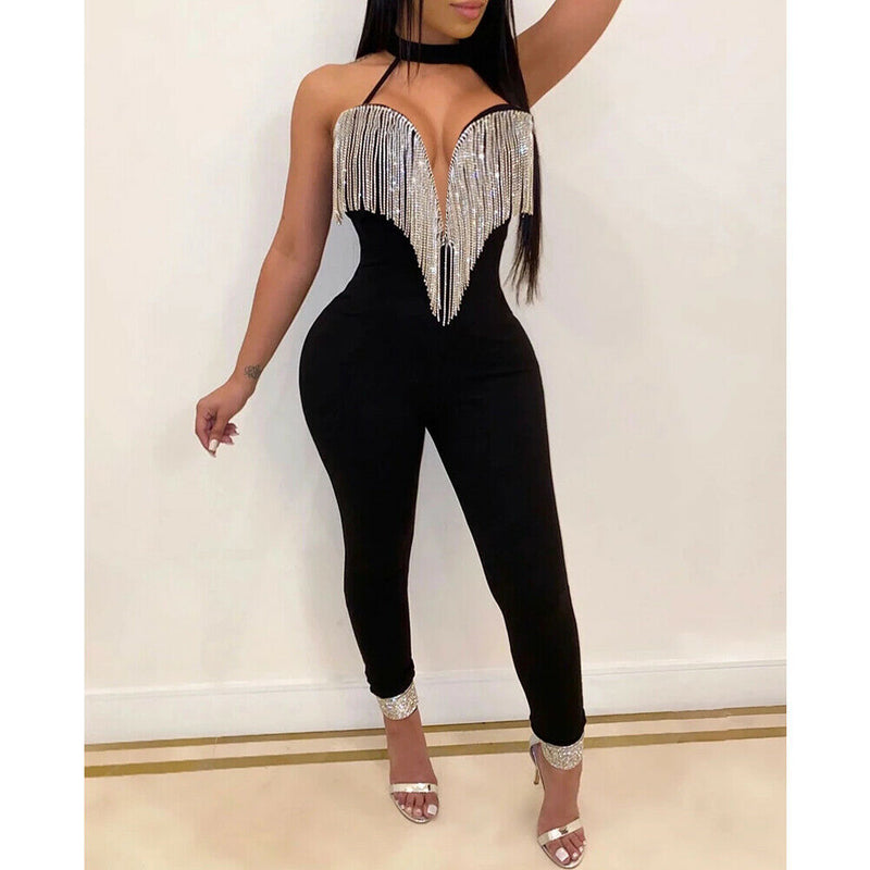 Cotton Tassels Jumpsuit Romper - On-Point Clothing!