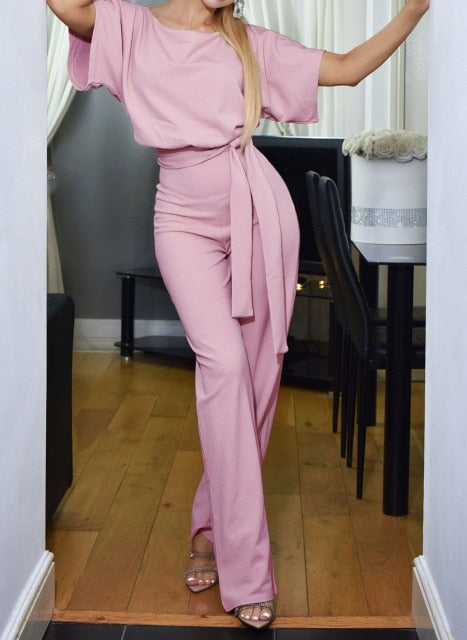 Elegant Summer Casual Jumpsuit - On-Point Clothing!