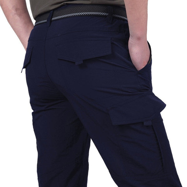 Men's Lightweight Tactical Pants Breathable Casual  Waterproof Quick Dry Cargo Pants - On-Point Clothing!