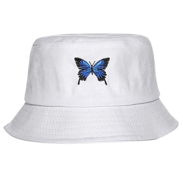Butterfly Foldable Bucket Hat for Women - On-Point Clothing!