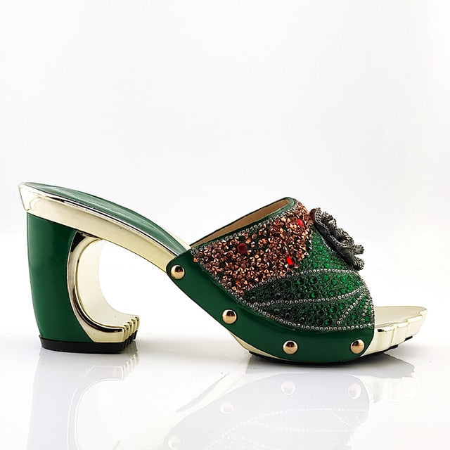 Fashionable Italian Women's Shoes with Appliques - On-Point Clothing!