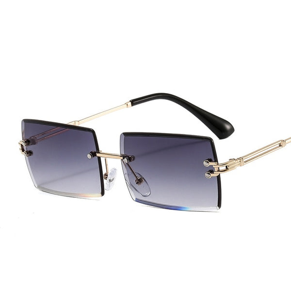 Rimless Sunglasses for Women - On-Point Clothing!