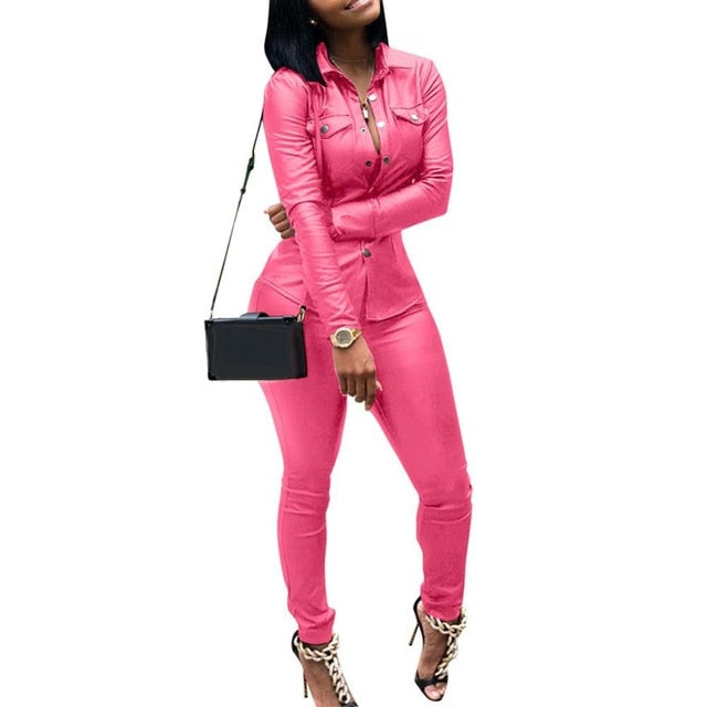 Casual Two Pieces Jumpsuit - On-Point Clothing!