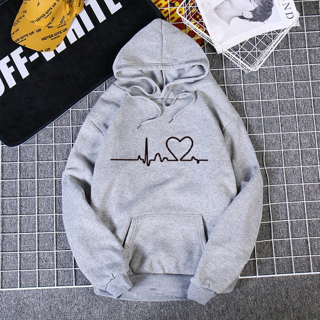 Pullover Thick Loose Hoodie - On-Point Clothing!